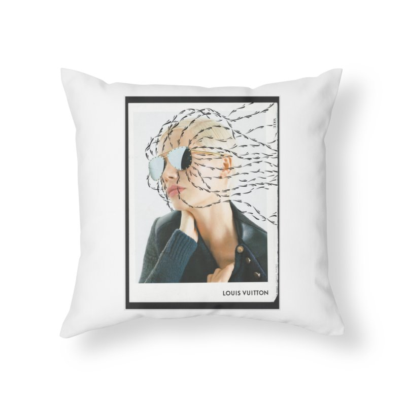 Commotion Vouge LV Home Throw Pillow by Dustin Klein's Artist Shop