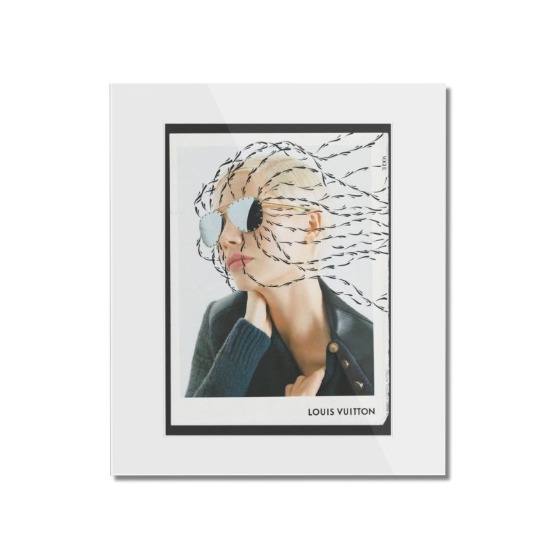 Commotion Vouge LV Home Mounted Acrylic Print by DustinKlein's Artist Shop