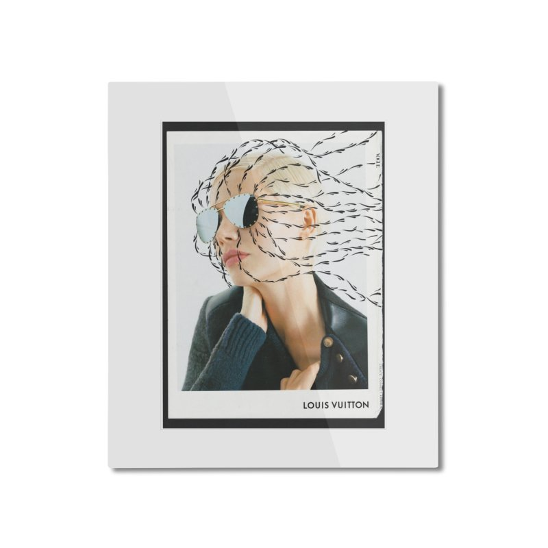 Commotion Vouge LV Home Mounted Aluminum Print by DustinKlein's Artist Shop