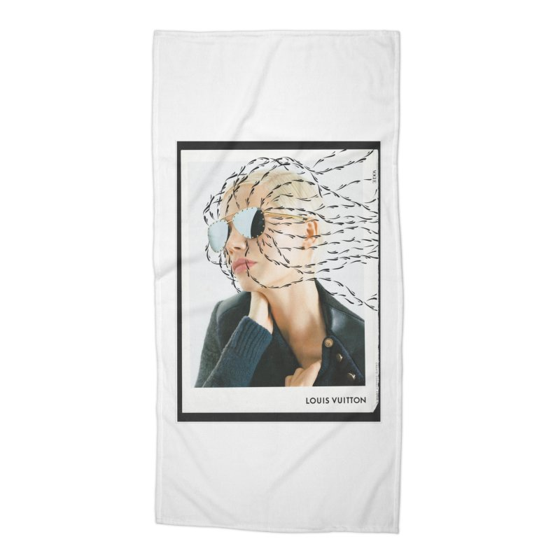Commotion Vouge LV Accessories Beach Towel by DustinKlein's Artist Shop