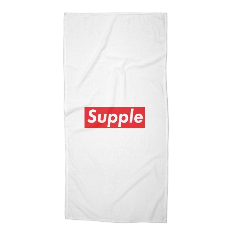 Supple Accessories Beach Towel by DustinKlein's Artist Shop