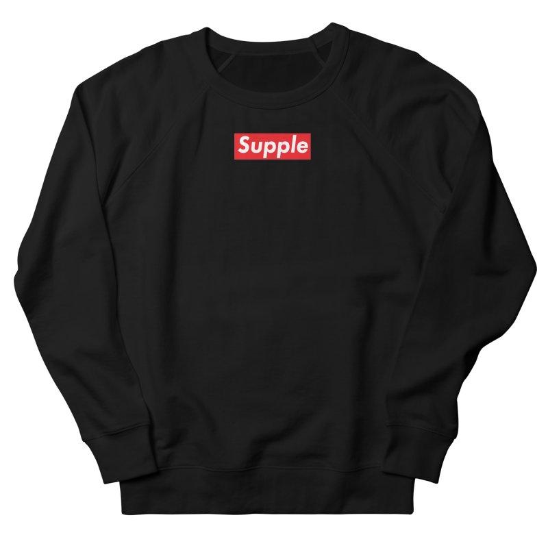 Supple Men's French Terry Sweatshirt by DustinKlein's Artist Shop