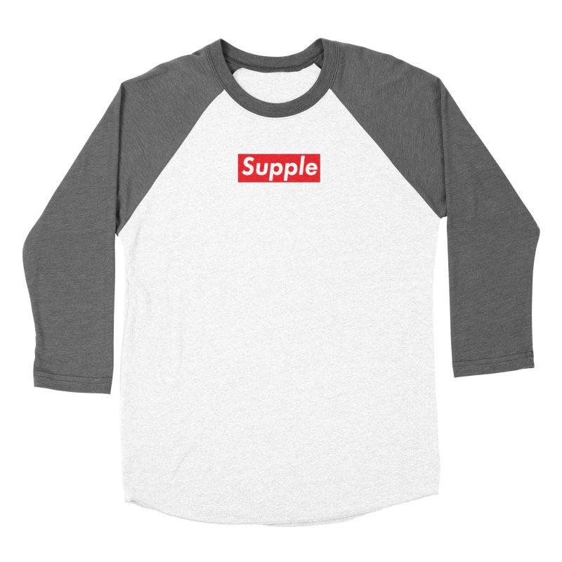 Supple Women's Baseball Triblend Longsleeve T-Shirt by DustinKlein's Artist Shop