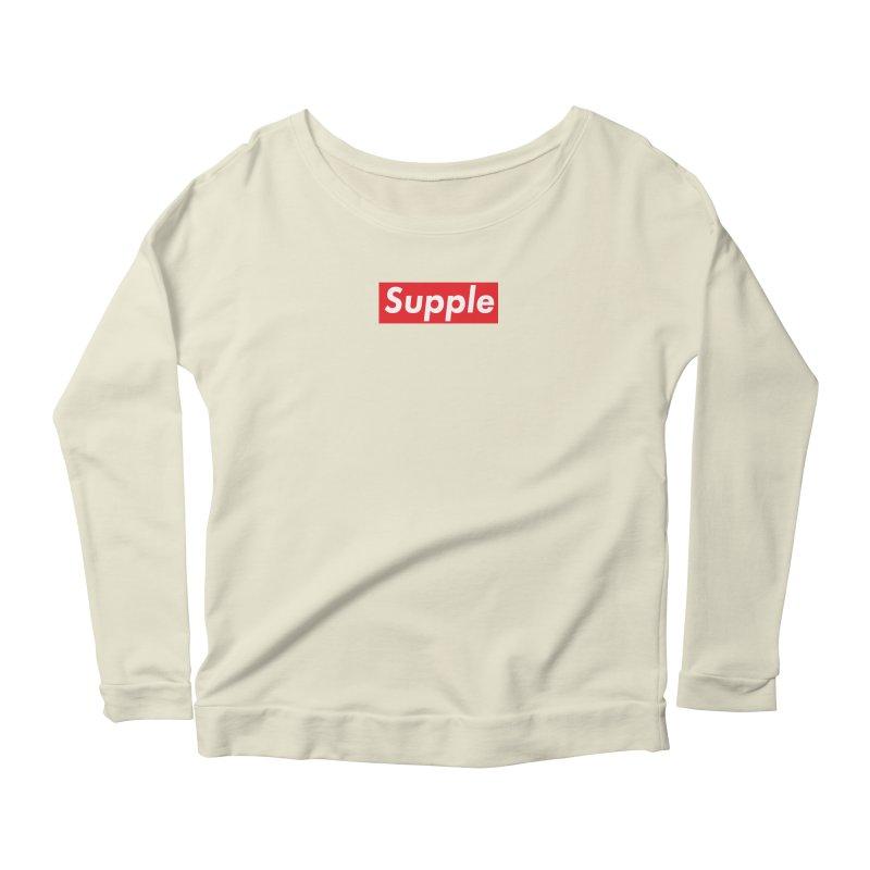 Supple Women's Scoop Neck Longsleeve T-Shirt by DustinKlein's Artist Shop