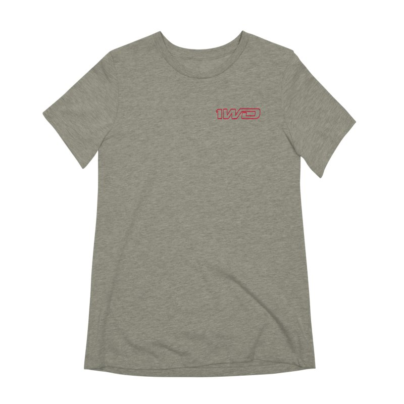 1 WD Women's Extra Soft T-Shirt by DustinKlein's Artist Shop