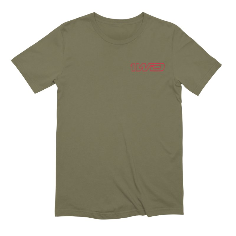 1 WD Men's Extra Soft T-Shirt by Dustin Klein's Artist Shop
