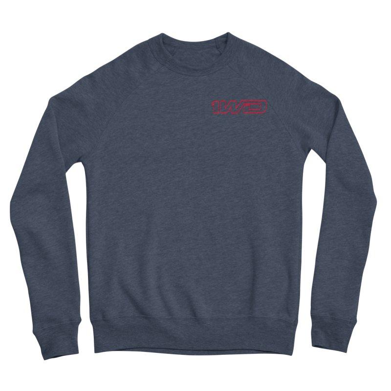1 WD Men's Sponge Fleece Sweatshirt by DustinKlein's Artist Shop