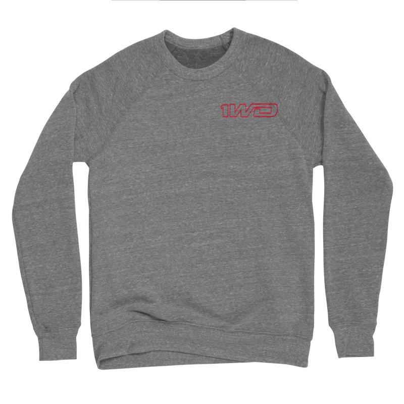 1 WD Women's Sponge Fleece Sweatshirt by Dustin Klein's Artist Shop
