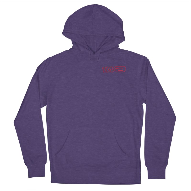 1 WD Men's French Terry Pullover Hoody by Dustin Klein's Artist Shop