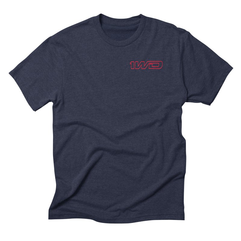 1 WD Men's Triblend T-Shirt by Dustin Klein's Artist Shop