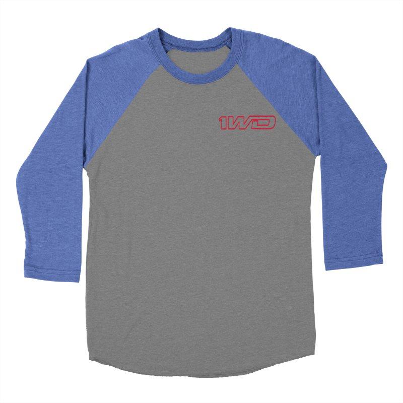 1 WD Men's Baseball Triblend Longsleeve T-Shirt by DustinKlein's Artist Shop