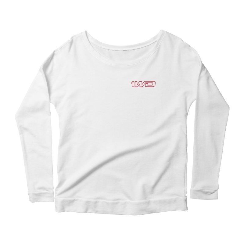 1 WD Women's Scoop Neck Longsleeve T-Shirt by Dustin Klein's Artist Shop