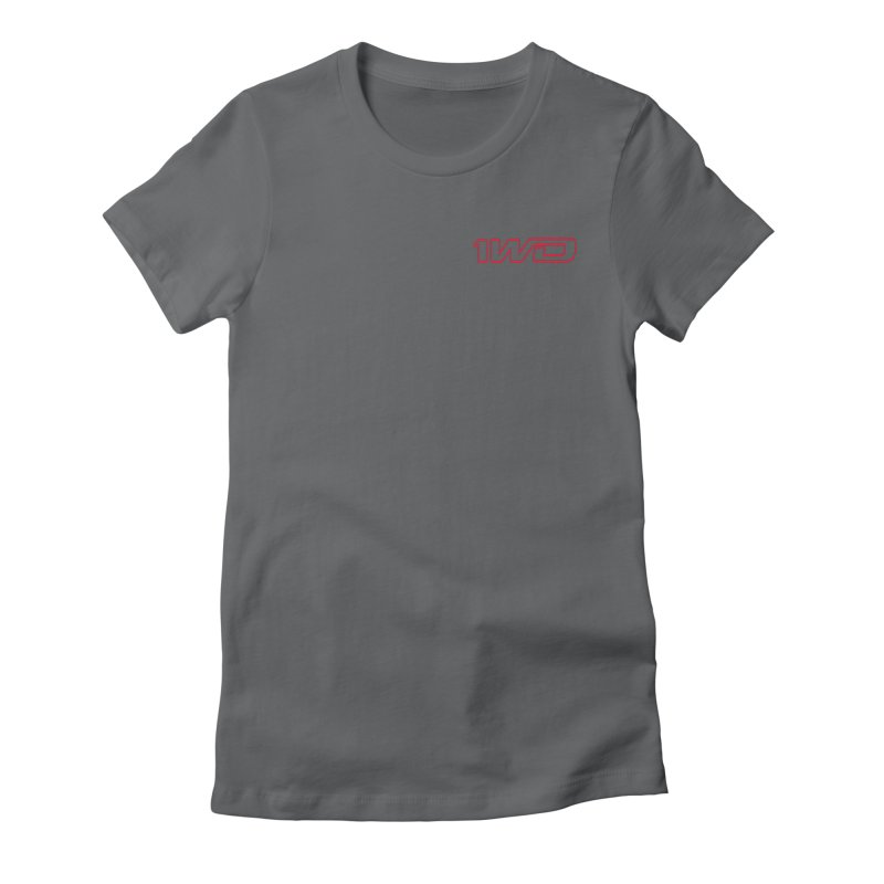 1 WD Women's Fitted T-Shirt by Dustin Klein's Artist Shop