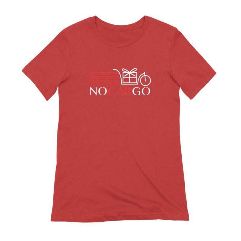 No Car Go Women's Extra Soft T-Shirt by Dustin Klein's Artist Shop