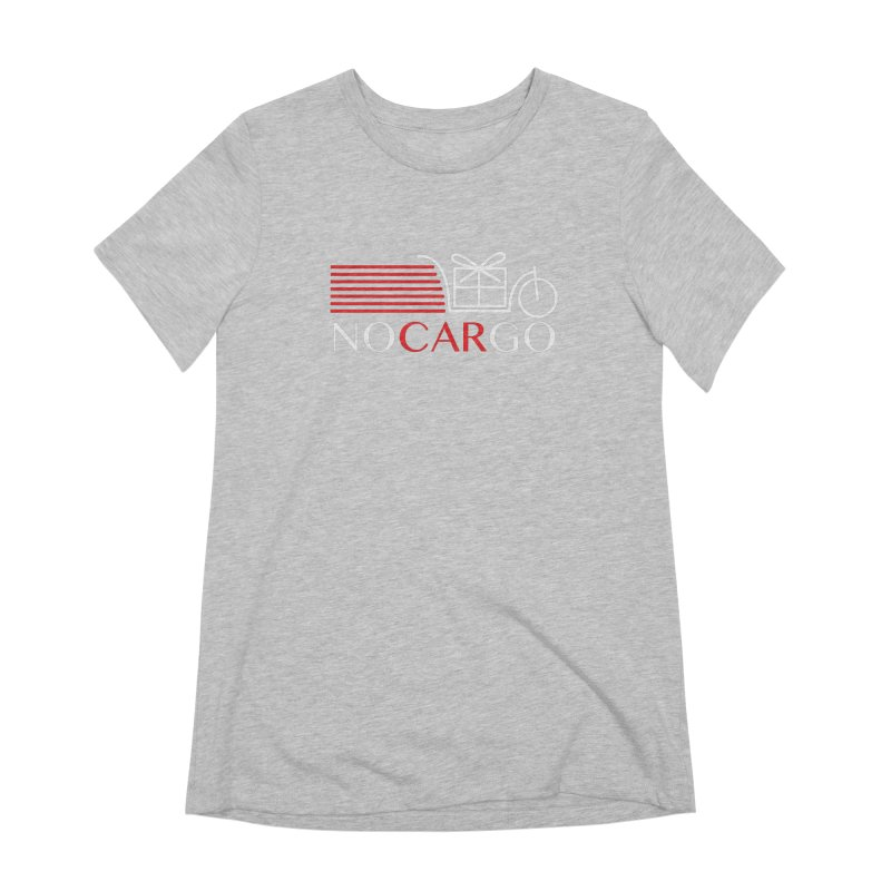No Car Go Women's Extra Soft T-Shirt by Dustin Klein's Artist Shop