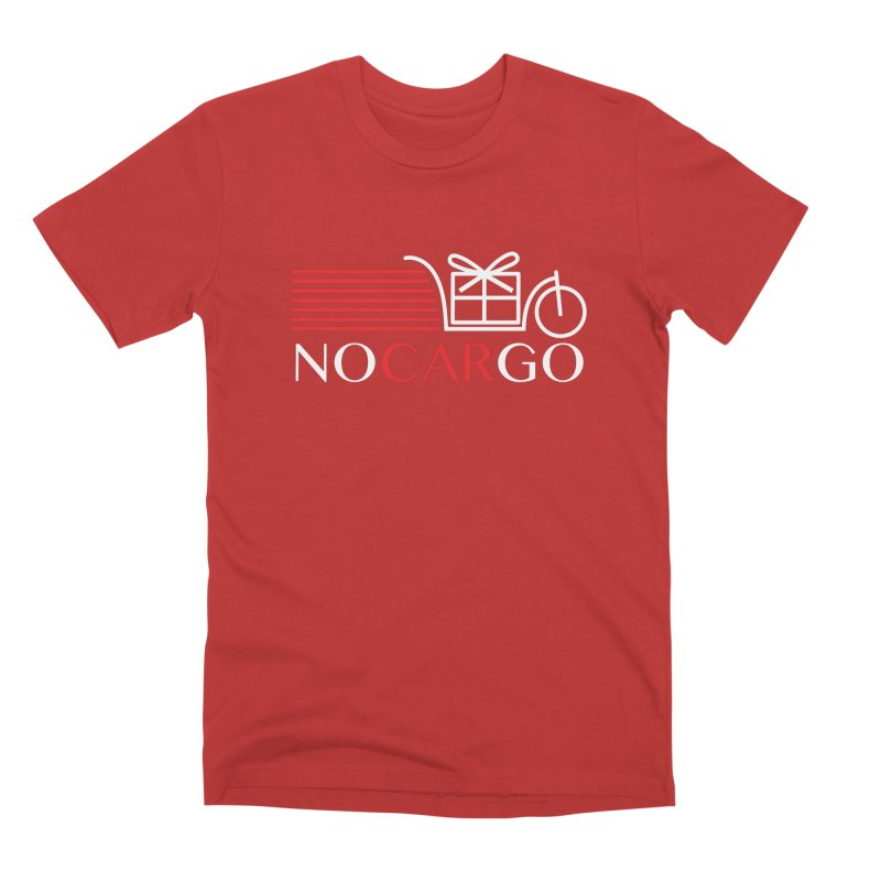 No Car Go Men's Premium T-Shirt by Dustin Klein's Artist Shop