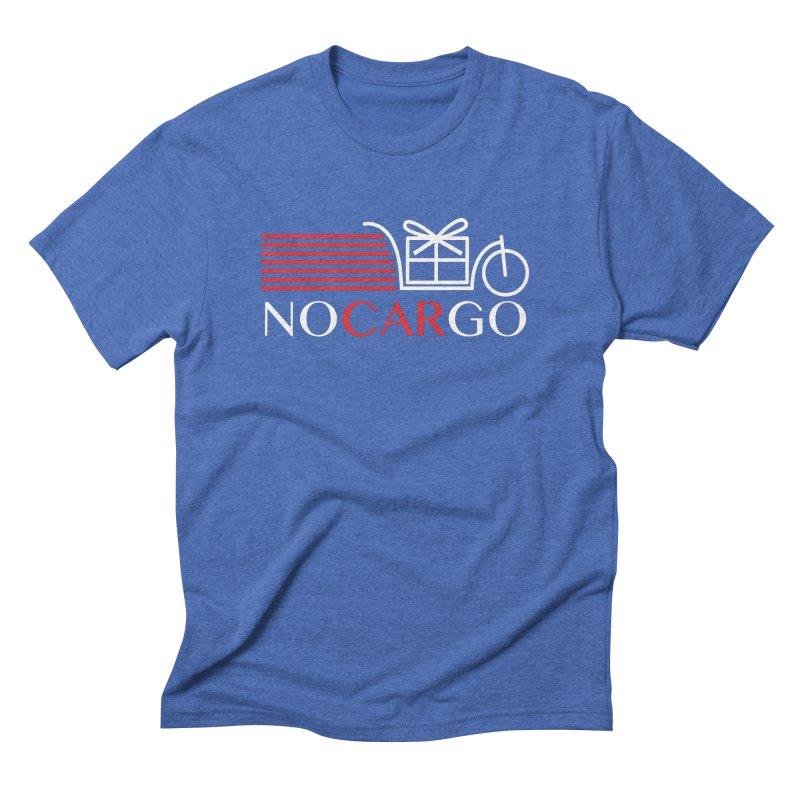No Car Go Men's T-Shirt by Dustin Klein's Artist Shop