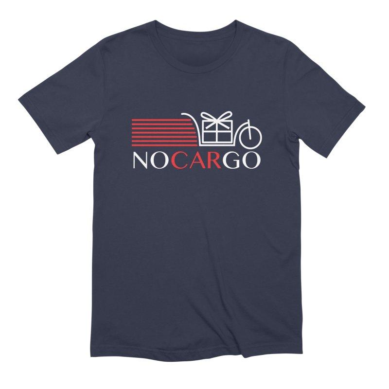 No Car Go Men's Extra Soft T-Shirt by Dustin Klein's Artist Shop