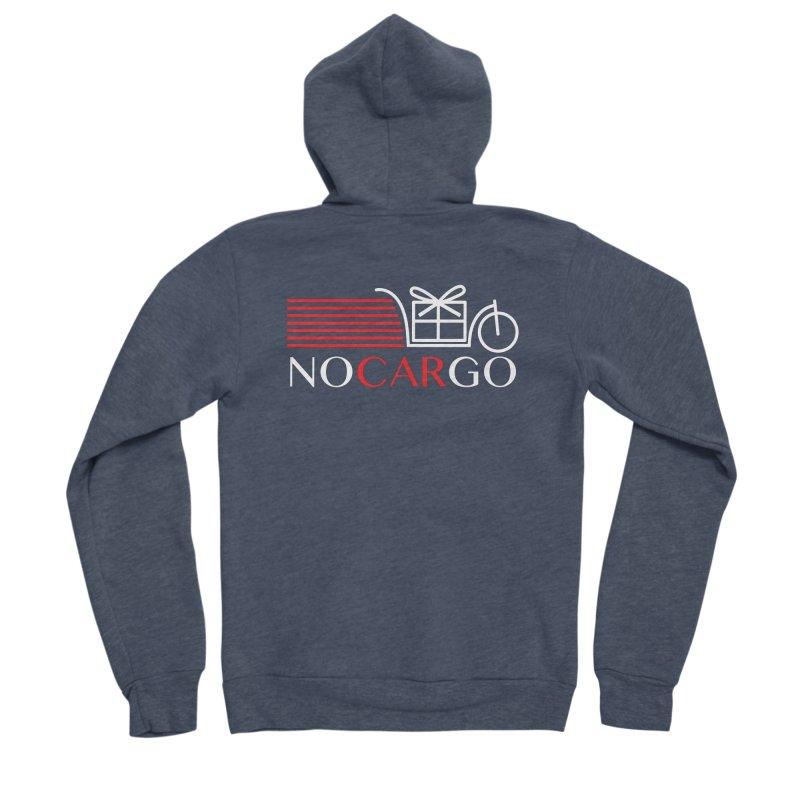 No Car Go Women's Sponge Fleece Zip-Up Hoody by Dustin Klein's Artist Shop