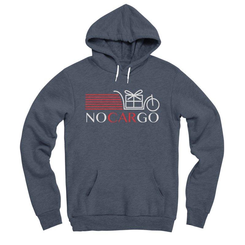 No Car Go Men's Sponge Fleece Pullover Hoody by Dustin Klein's Artist Shop