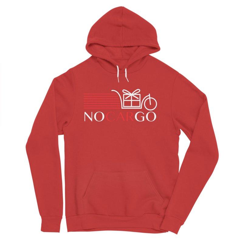 No Car Go Women's Sponge Fleece Pullover Hoody by Dustin Klein's Artist Shop