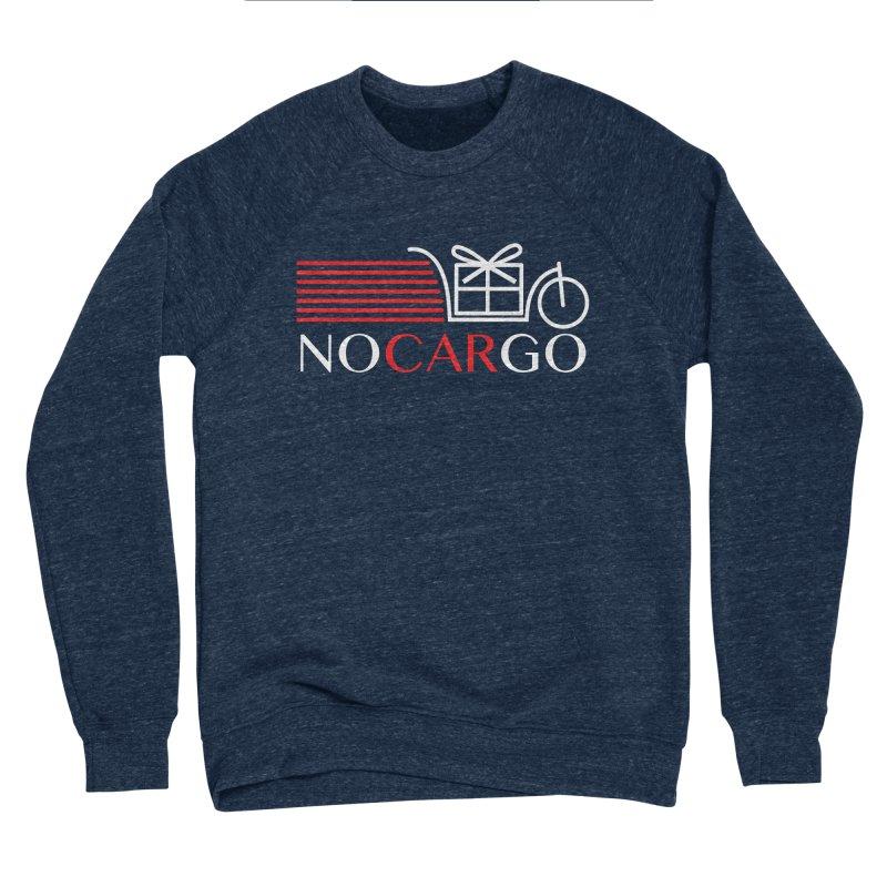 No Car Go Women's Sponge Fleece Sweatshirt by Dustin Klein's Artist Shop