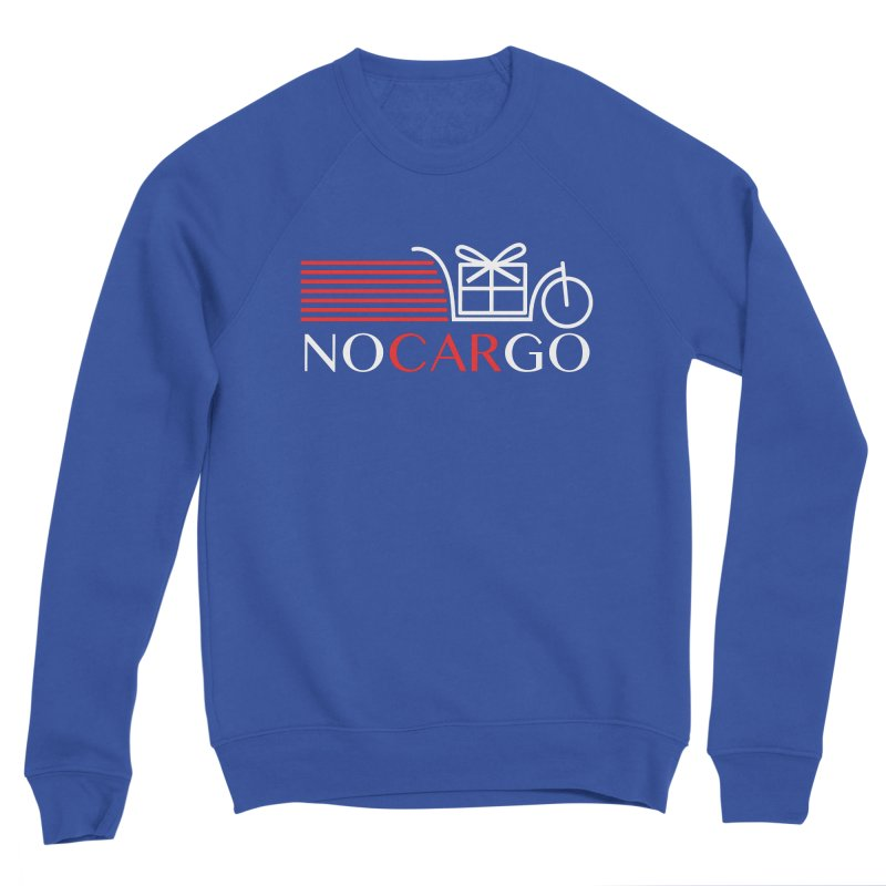 No Car Go Men's Sponge Fleece Sweatshirt by Dustin Klein's Artist Shop