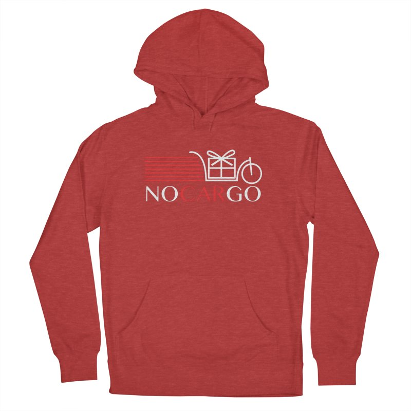 No Car Go Women's French Terry Pullover Hoody by Dustin Klein's Artist Shop