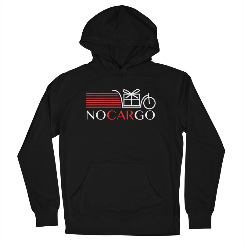 No Car Go Men's French Terry Pullover Hoody by Dustin Klein's Artist Shop