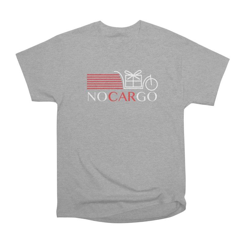 No Car Go Men's Heavyweight T-Shirt by Dustin Klein's Artist Shop