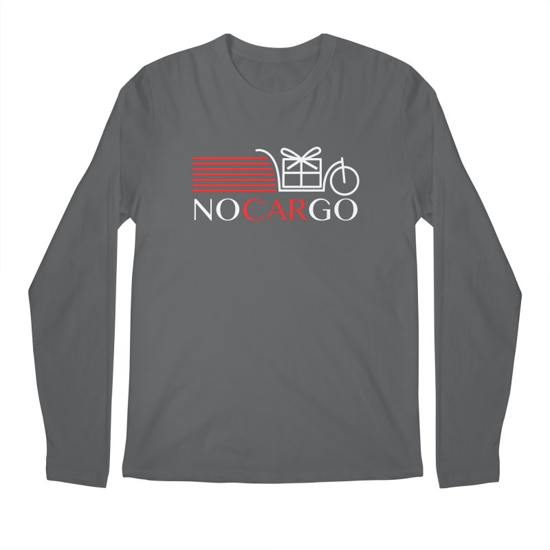 No Car Go Men's Regular Longsleeve T-Shirt by Dustin Klein's Artist Shop