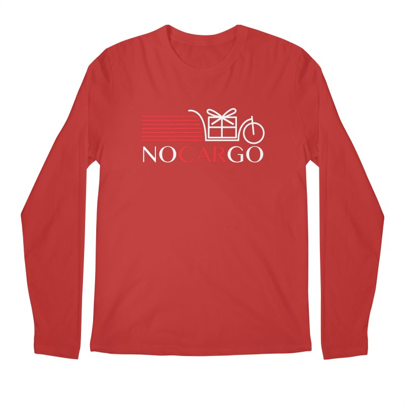 No Car Go Men's Regular Longsleeve T-Shirt by Dustin Klein's Artist Shop