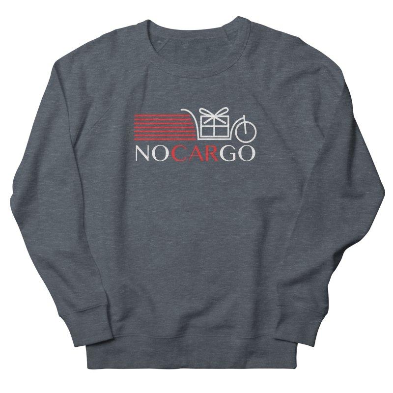 No Car Go Men's French Terry Sweatshirt by Dustin Klein's Artist Shop