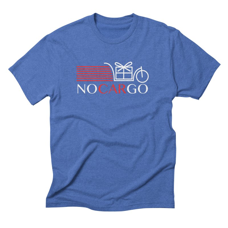 No Car Go Men's Triblend T-Shirt by Dustin Klein's Artist Shop