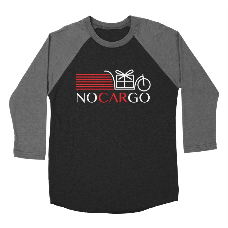 No Car Go Men's Baseball Triblend Longsleeve T-Shirt by Dustin Klein's Artist Shop