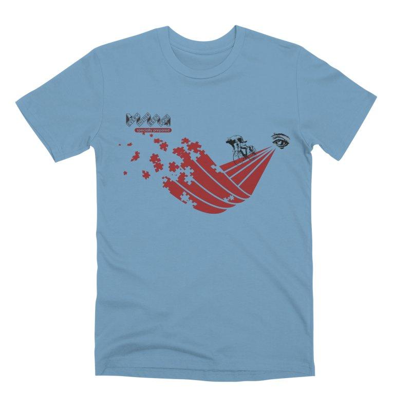 ESP Men's Premium T-Shirt by Dustin Klein's Artist Shop