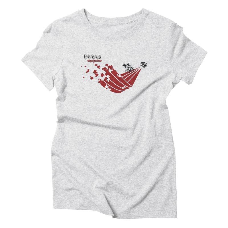 ESP Women's Triblend T-Shirt by Dustin Klein's Artist Shop