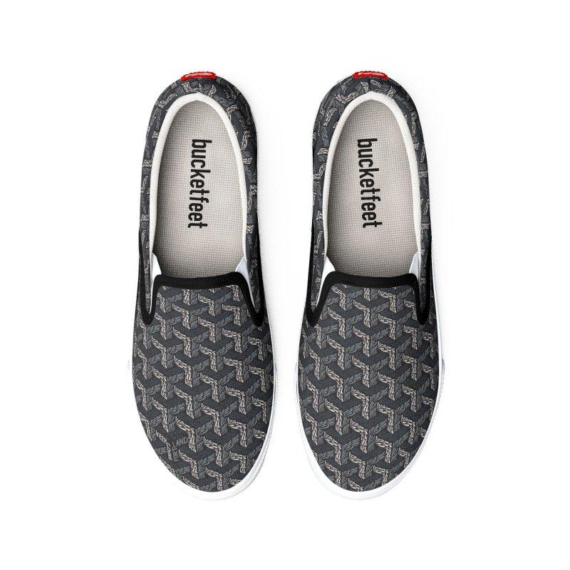 Bruscher Men's Shoes by Dustin Klein's Artist Shop