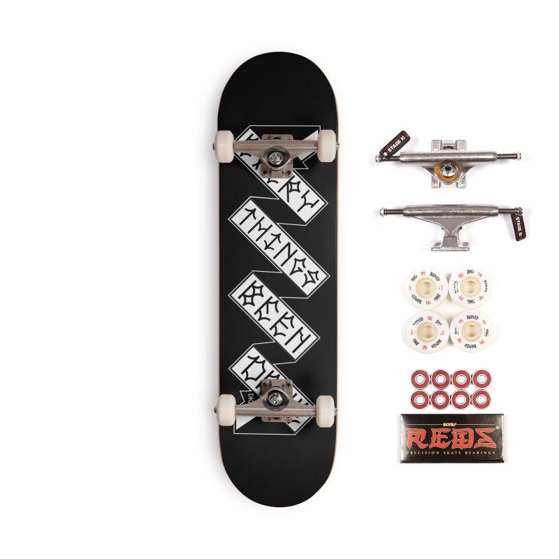 EBD TRICK STICK Accessories Complete - Pro Skateboard by Dustin Klein's Artist Shop