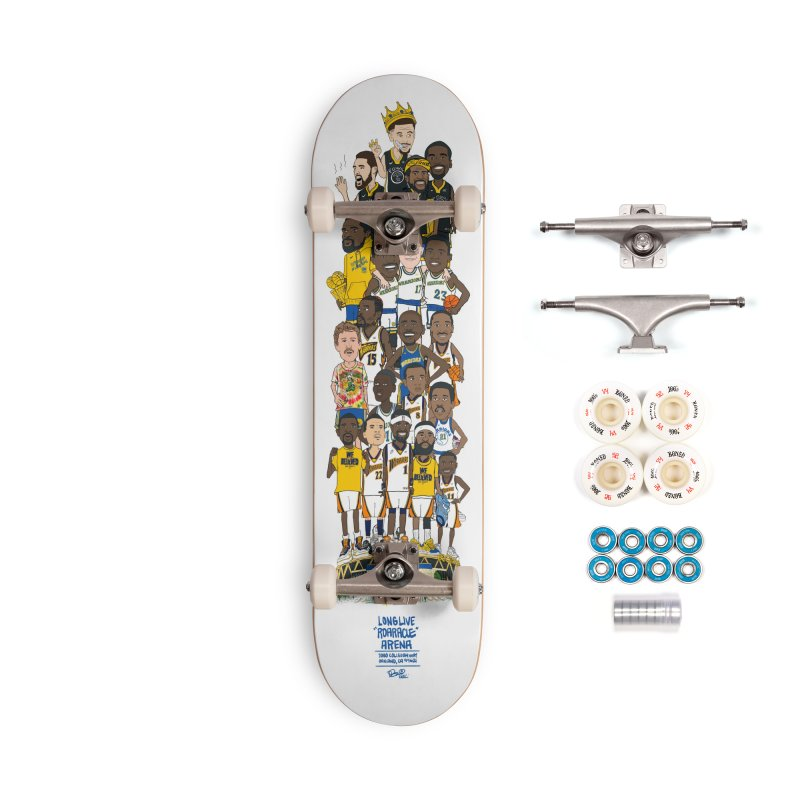 LONG LIVE ROARACLE Accessories Complete - Premium Skateboard by THE DOC® SHOP