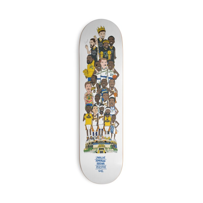 LONG LIVE ROARACLE Accessories Deck Only Skateboard by THE DOC® SHOP