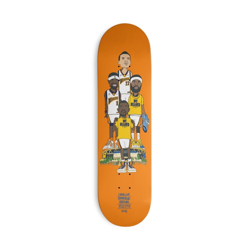 WE BELIEVE Accessories Deck Only Skateboard by THE DOC® SHOP