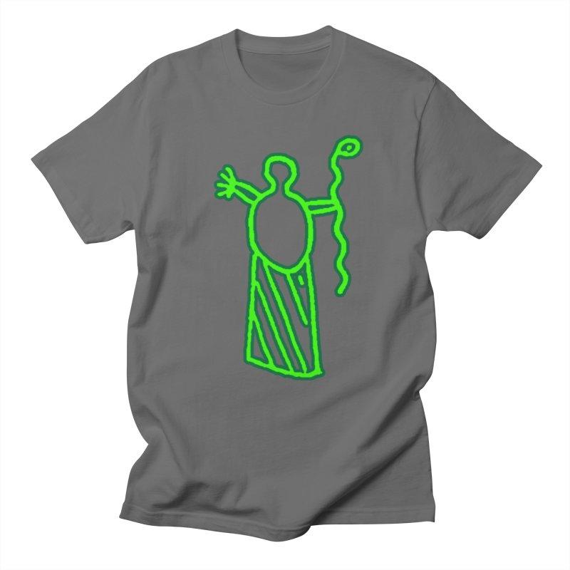 Dusty Wright - Green Petroglyph Logo Men's T-Shirt by DustyWright's Artist Shop