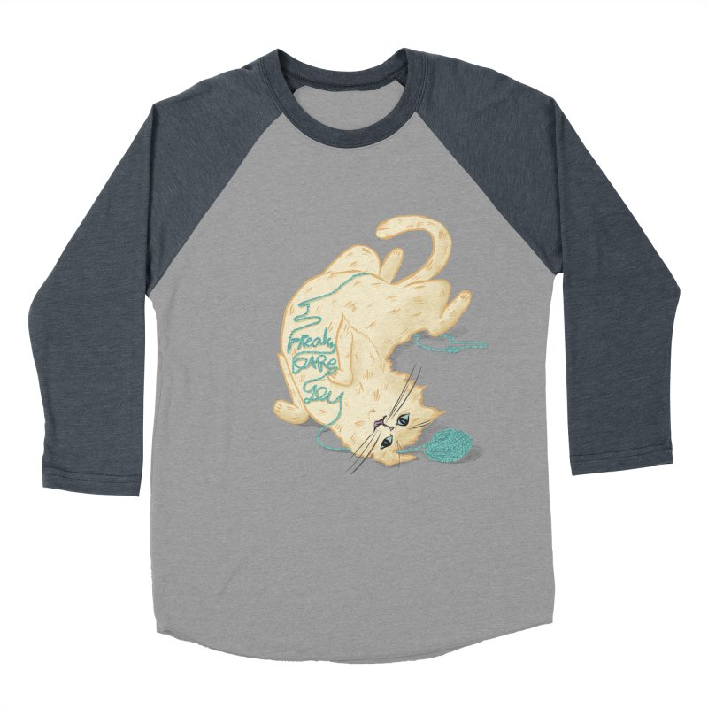 It's a trap! Men's Baseball Triblend Longsleeve T-Shirt by the DRiP