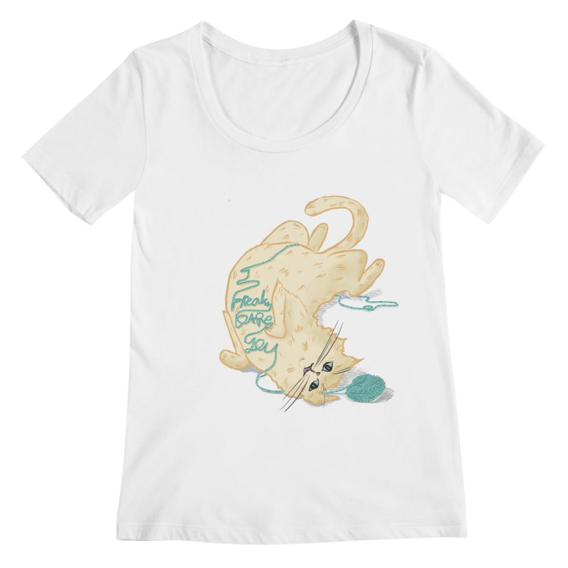 It's a trap! Women's Regular Scoop Neck by the DRiP