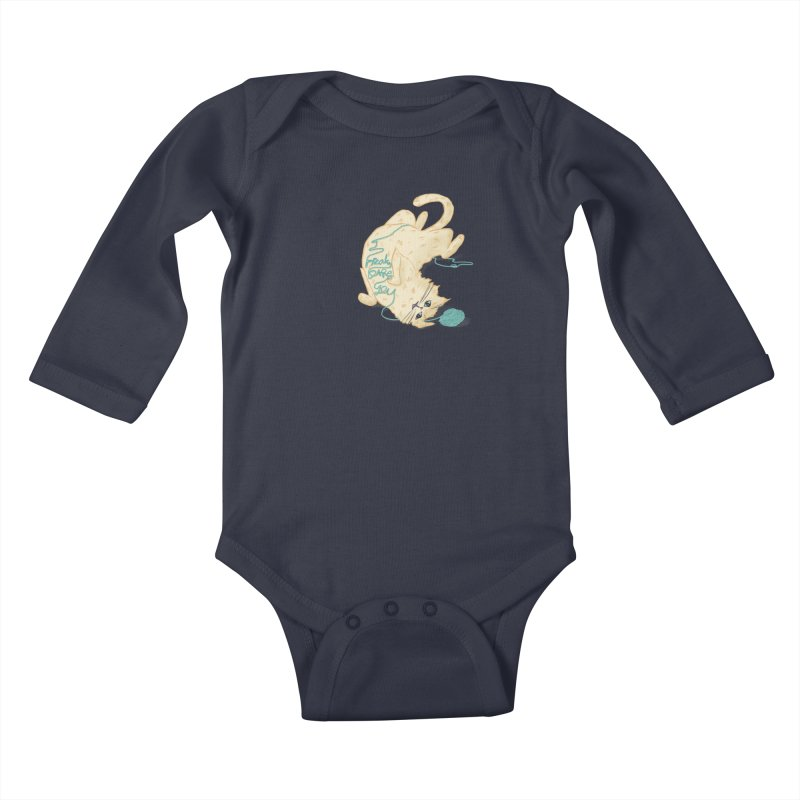 It's a trap! Kids Baby Longsleeve Bodysuit by the DRiP