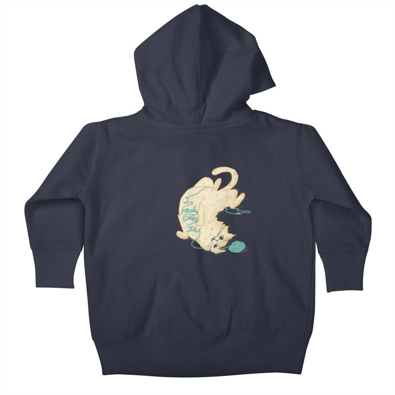 It's a trap! Kids Baby Zip-Up Hoody by the DRiP