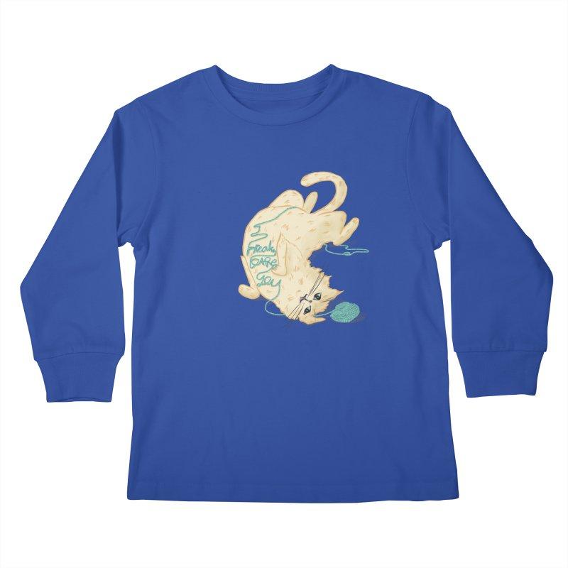 It's a trap! Kids Longsleeve T-Shirt by the DRiP