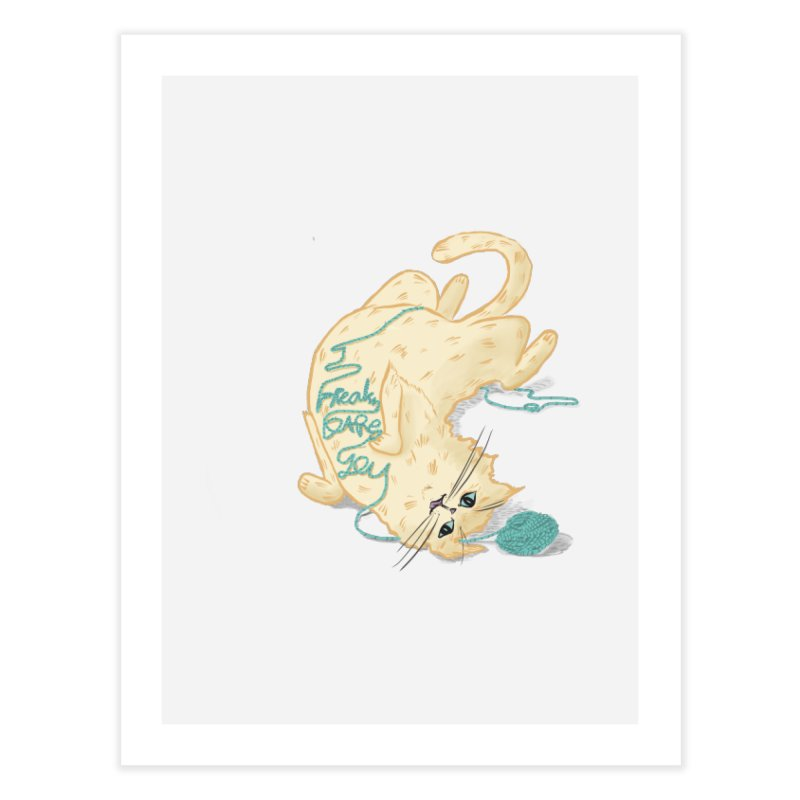 It's a trap! Home Fine Art Print by the DRiP