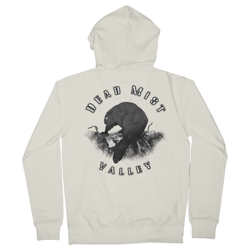 Oregon - Dead Mist Valley Women's French Terry Zip-Up Hoody by Dystopia Rising's Artist Shop